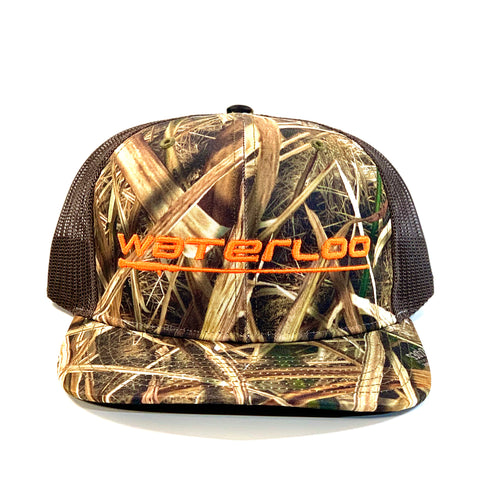 Mossy Oak Blades and Brown Waterloo Cap