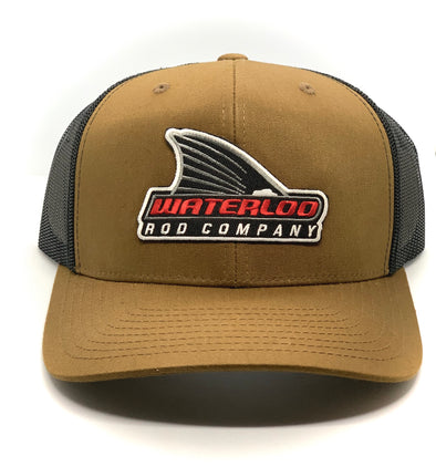 Waterloo Brown and Black Tails Up Patch Cap