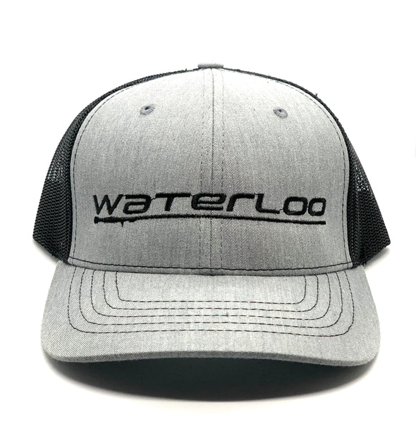 Waterloo Youth Cap - Heather Grey and Black
