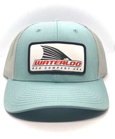 Smoke Blue Waterloo Tails Up Patch Cap