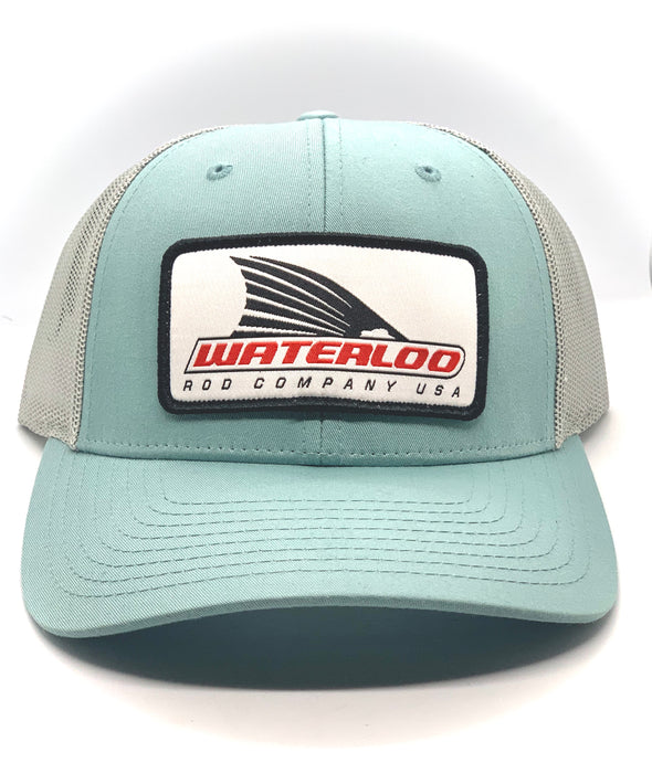 Waterloo Smoke Blue Tails Up Patch Cap