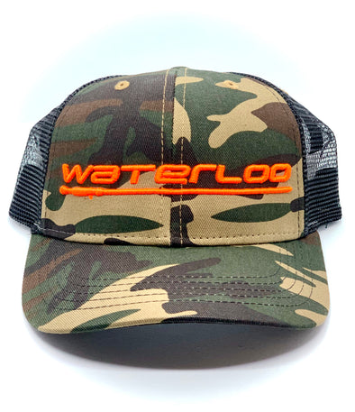 Waterloo Youth Camo Cap