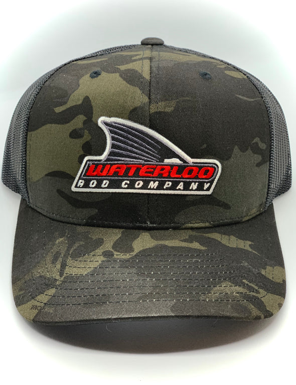 Waterloo Camo Cap - Mutlicam Black and Black