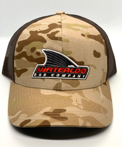 Waterloo Camo Cap - Multicam Arid and Brown