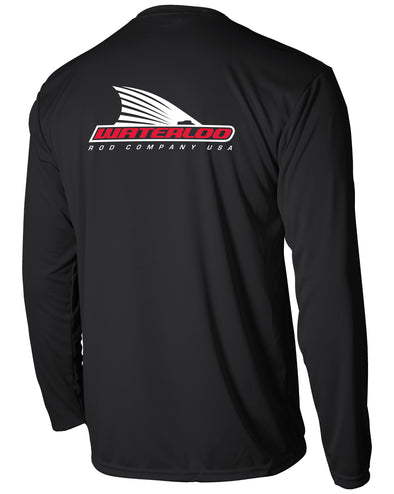 Black Tails Up Performance Shirt