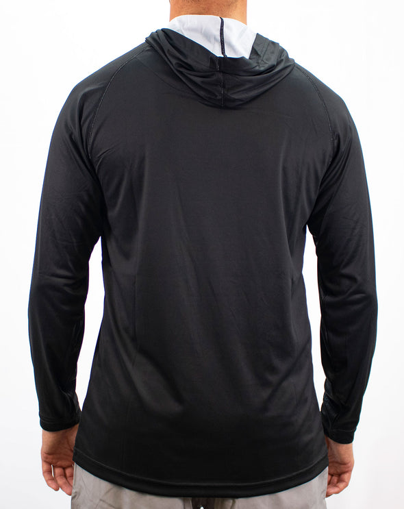 REEL Sportswear Portside Performance Hoody - Black