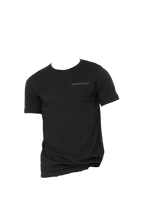 Load image into Gallery viewer, Black Heather Waterloo Short Sleeve Tee