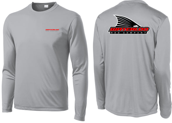 Waterloo Tails Up Silver Performance Shirt