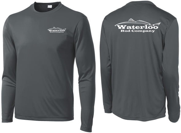 Waterloo Dark Grey Redfish Performance Shirt