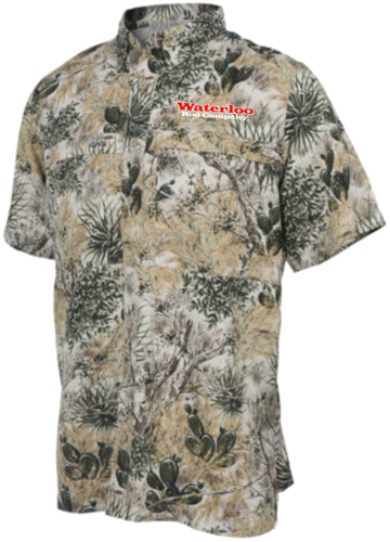 GameGuard Youth Microfiber Short Sleeve Shirt - Camo
