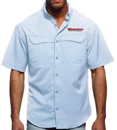 Waterloo Pro Celebrity Short Sleeve Fishing Shirt (Multiple Colors)