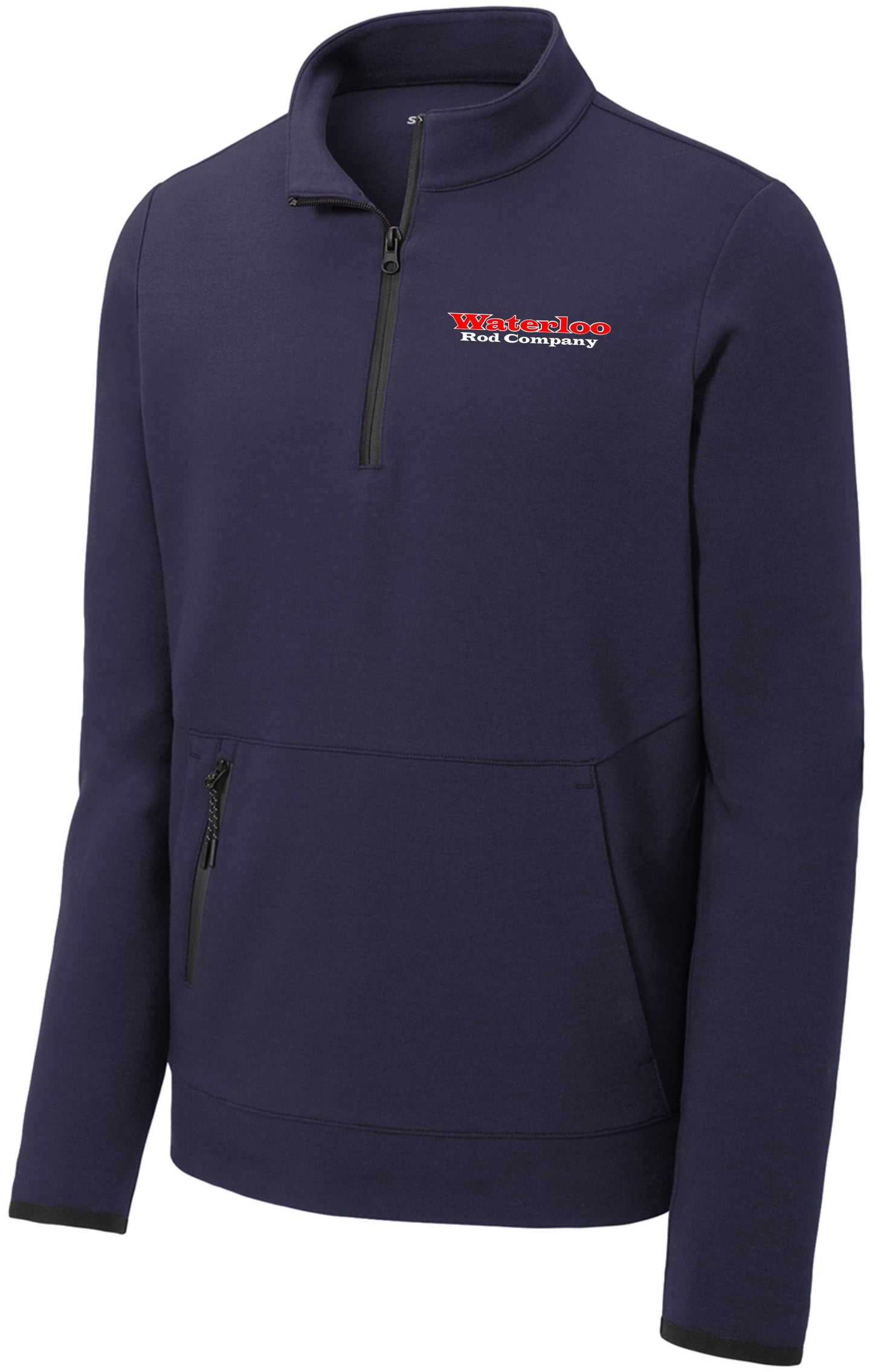 Waterloo Pullover Half-Zip Jacket- Navy