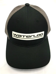 Black/Charcoal Waterloo Patch Cap