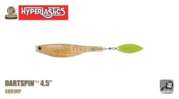 A Band of Anglers Dartspin 4.5 Hyperlastics (Multiple Colors)