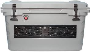 Wet Sounds SHIVR-55 Battleship Gray Bluetooth Soundbar Cooler
