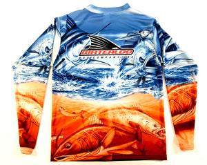Kid's Waterloo Long Sleeve Fishing Shirt