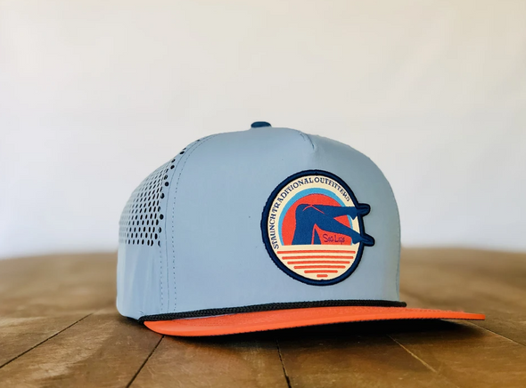 STAUNCH Ocean Blue and Orange Sea Legs Cap