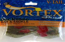 Load image into Gallery viewer, Vortex Shad V-Tail Plastic Swim Bait-8 Pack (Multiple Colors)