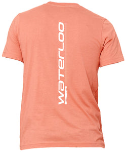 Waterloo Soft Cotton Short Sleeve Tee- Sunset