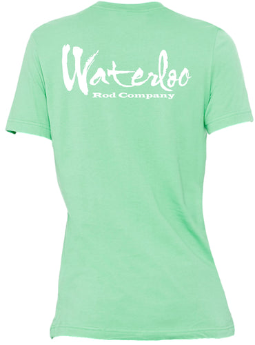 Waterloo Soft Cotton Short Sleeve Tee - Mint
