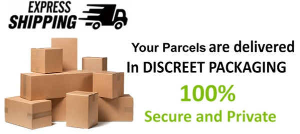 fast express shipping and discreet delivery