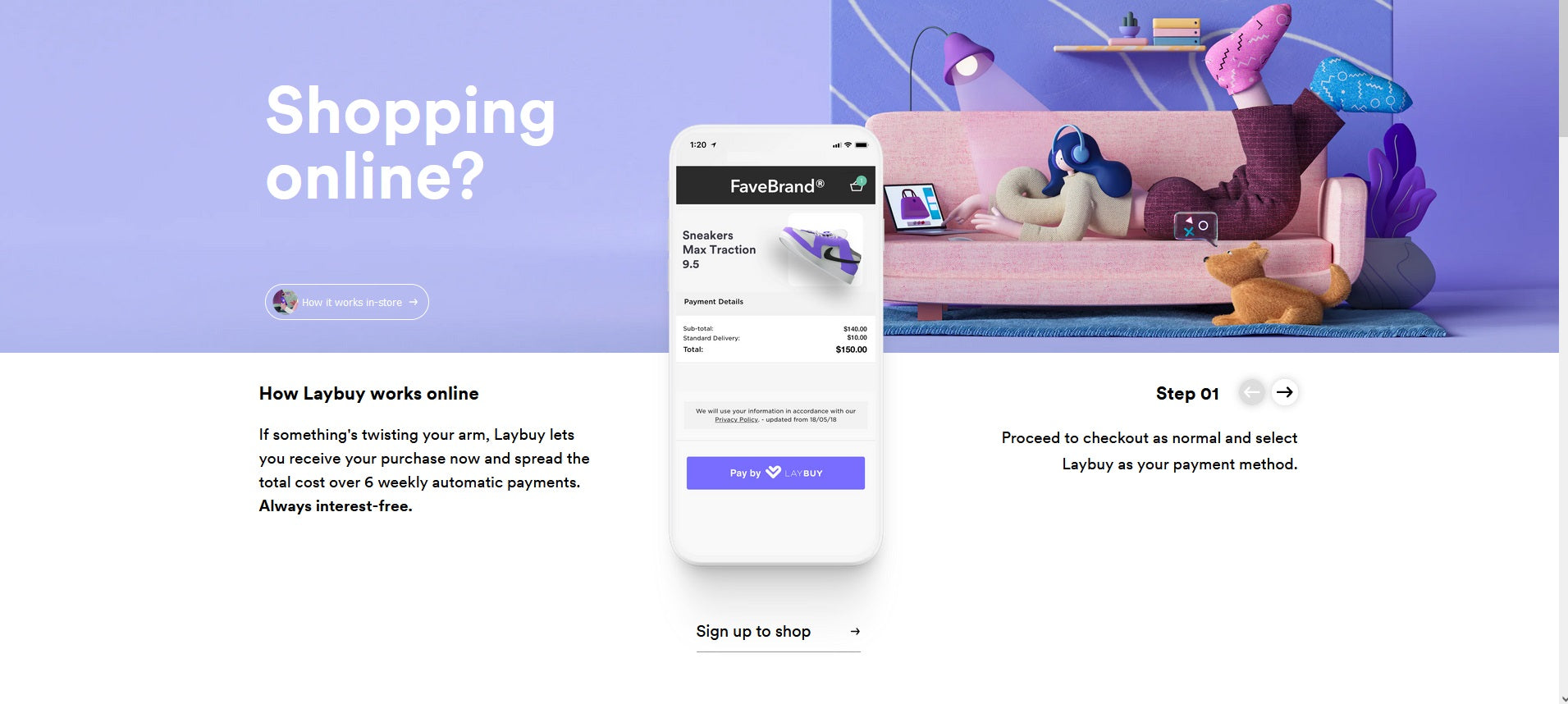Laybuy - Interest Free Payments