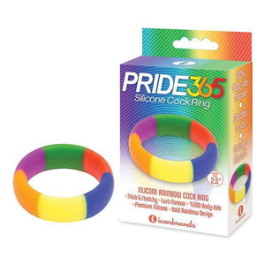 9's Pride 365 Rainbow Cock Ring