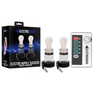 Electro Shock Nipple Twisters With E-Stim