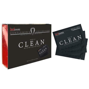 Bedroom Products Clean Cleansing Wipes - 10 Pack