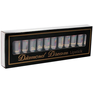 Diamond Dream Lipstick - Pecker Lipsticks - Display of 12