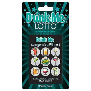 Drink Me Lotto Party Scratcher