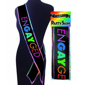 Engayged Party Sash