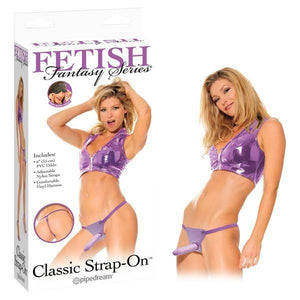 Fetish Fantasy Series Classic Strap-On - Purple 15 cm (6'') Strap-On