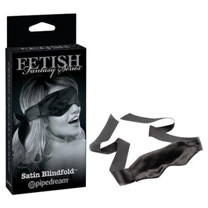 Fetish Fantasy Series Limited Edition Black Satin Blindfold