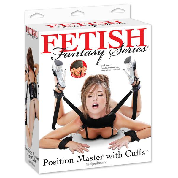 Fetish Fantasy Series Position Master With Cuffs - Restraint Set