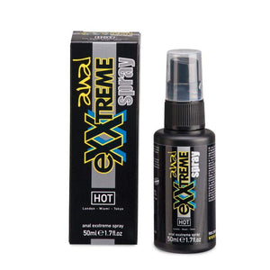 HOT Exxtreme Anal Relaxing Spray - 50ml Pump Bottle