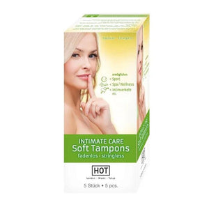 HOT INTIMATE Care Soft Tampons - 5 Pack