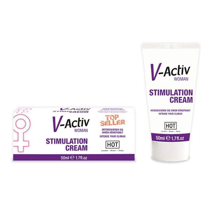 HOT V-activ Stimulation Cream for Women 50ml