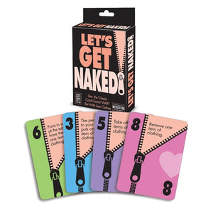 Let's Get Naked! - Party Card Game
