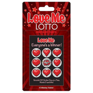Love Me Lotto Naughty Scratcher