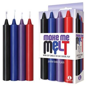 Make Me Melt Drip Candles - Passion Tones Drip Candles - 4 Pack