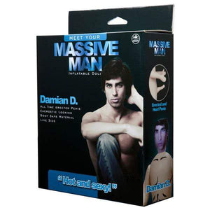 Massive Man - Damian D Inflatable Love Doll