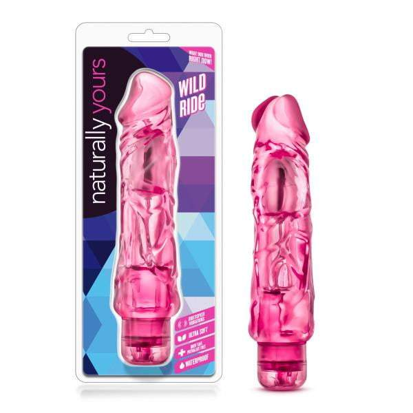 Naturally Yours - Wild Ride - Pink 22.9 cm (9'') Vibrator
