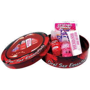 Oral Sex Essentials Kit - 4 Piece Set
