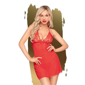 Penthouse BEDTIME STORY - Red Dress - M/L