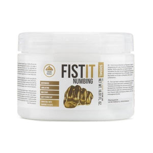 Pharmquests Fist-It Numbing - Water Based Numbing Lubricant - 500 ml Tub