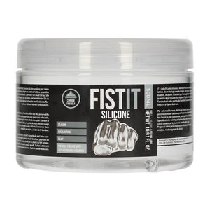 Pharmquests Fist-It Silicone - Silicone Lubricant - 500 ml Tub