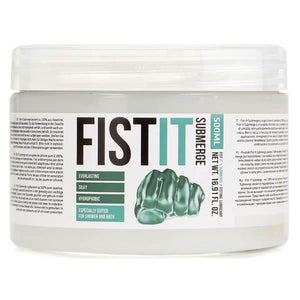 Pharmquests Fist-It Submerge - Oil Based Lubricant - 500 ml Tub