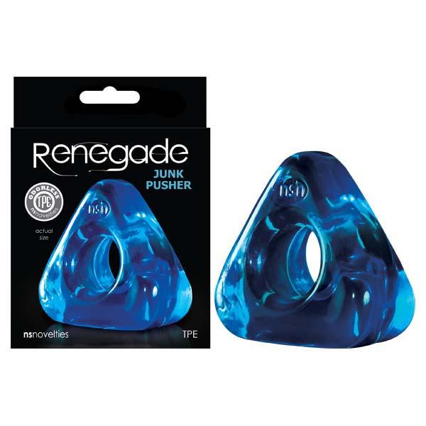 Renegade - Junk Pusher - Blue Cock Ring