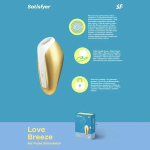 Satisfyer Love Breeze - Stimulator with Vibration - Yellow